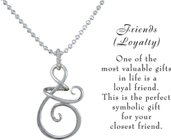 Friends necklace w meaning