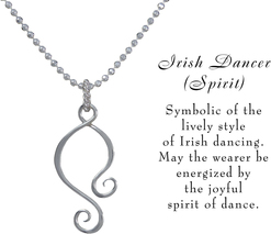 Irish dancer necklace w meaning