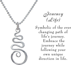 Journey necklace w meaning