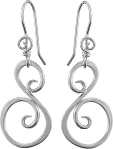 Image of Saratoga Jewels Swan (Grace) - Earrings View 1