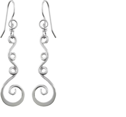 Image of Saratoga Jewels Vine (Strength) - Earrings View 1