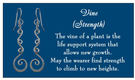 Image of Saratoga Jewels Vine (Strength) - Earrings View 5