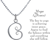 Image of Saratoga Jewels Yoga (Peace) - Necklace View 3