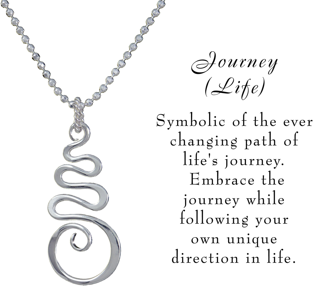 Saratoga jewels journey life necklace a silver breeze meaning image of saratoga jewels journey life necklace view 3 mozeypictures Images