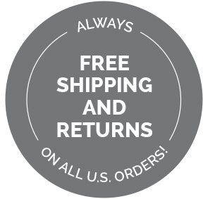Free Shipping and Returnson all US orders