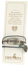 Image of Lenny and Eva Braided Wrap Mother Gift Set View 1