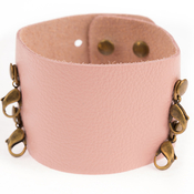 Image of Lenny and Eva Wide Cuff- Petal View 1