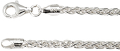 "Image of Kameleon 28"" Sterling Silver Wheat Chain View 1"