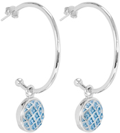 Image of Kameleon California Dreamin' Earrings Silver View 1