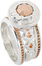 Image of Kameleon Endless Love Stacking Ring View 2