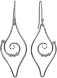 Image of Saratoga Jewels Dew Drop - Leaf Earrings View 1