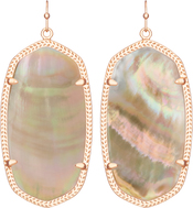 danielle-earring-rosegold-brown-mop