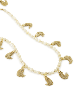 Kendra scott vanina necklace gold ivory mop beads a 02