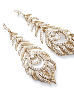 Kendra scott elettra earring gold white cz a 02