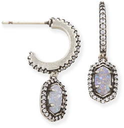 kendra-scott-cale-earring-antique-silver-wtcz-iridescent-druzy