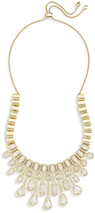 Image of Kendra Scott Bette Statement Necklace In Gold View 2