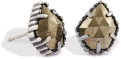 Image of Kendra Scott Tessa Stud Earrings in Pyrite View 1