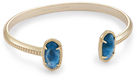 Image of Kendra Scott Elton Pinch Bracelet In Aqua Apatite View 2