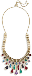 Image of Kendra Scott Bette Statement Necklace In Brass View 2