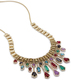 Image of Kendra Scott Bette Statement Necklace In Brass View 1