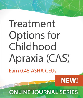 Treatment Options for Childhood Apraxia of Speech