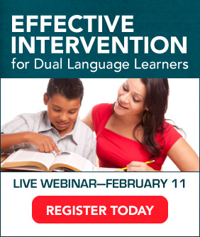 Effective Intervention for Dual Language Learners