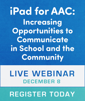 iPad for AAC