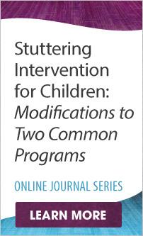 Stuttering Intervention for Children