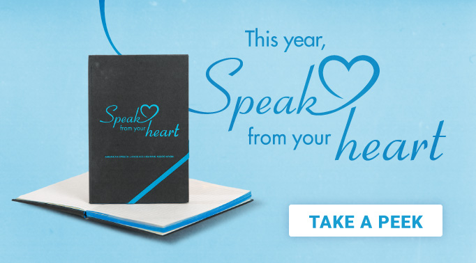Speak from the Heart Notebook