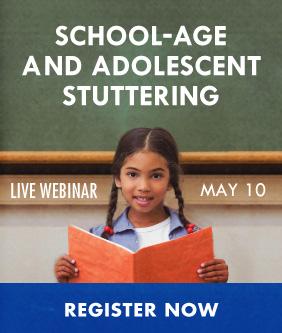 School Age Stuttering Webinar