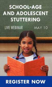 School-Age Stuttering Webinar