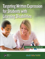 Targeting Written Expression for Students with Learning Disabilities