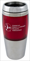 Travel Mug, Red