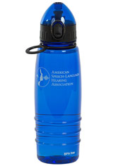 ASHA Water Bottle, Blue