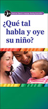 How Does Your Child Hear and Talk? (Spanish)