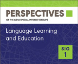 SIG 1 Perspectives Vol. 20, No. 4, October 2013