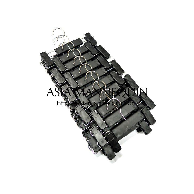 buy hcpm002 matte black mini child size clip hangers 20