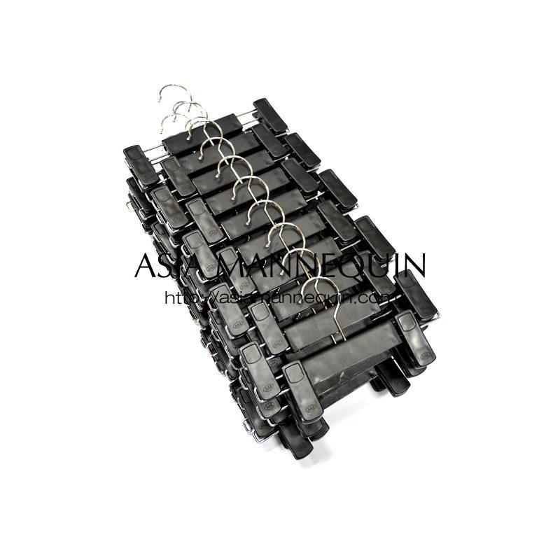 buy hcpm002 matte black mini child size clip hangers 30