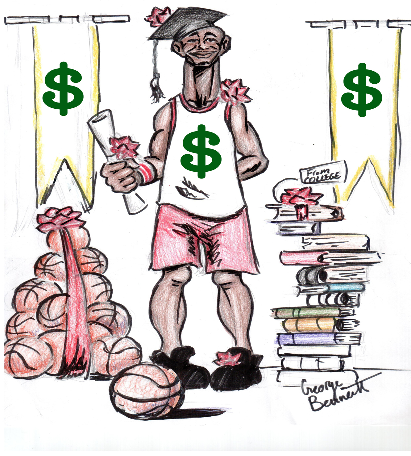 essays paying college athletes