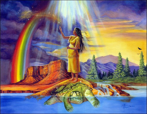 world on the turtles back essay Bible mythology (an essay on the difference and similarities between the world and the turtle back and the book of genesis) have you ever thought about how humans.