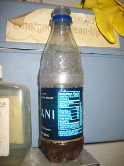  tobacco spit bottle 