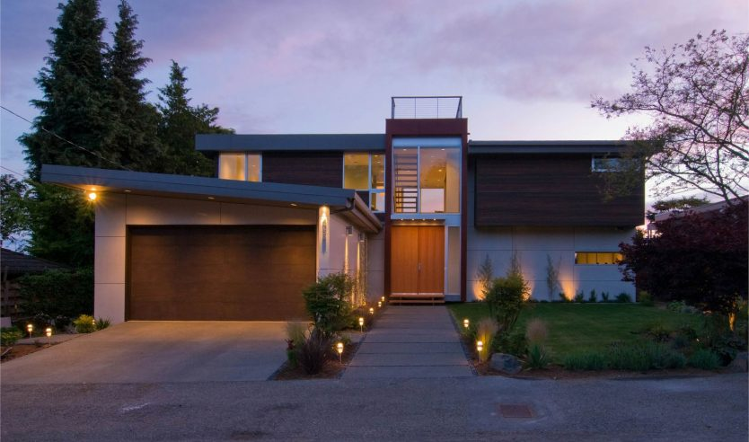 Collection of Modern Home Build BlogsAssemble. Modern Exterior Path Lighting. Home Design Ideas