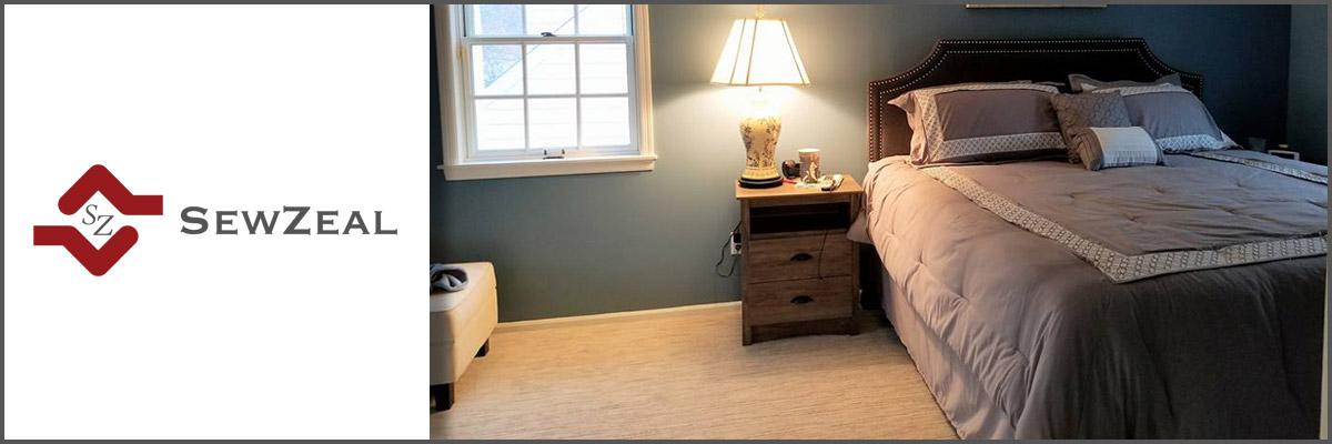 Sewzeal Provides Custom Home Decor In Garden City Ny