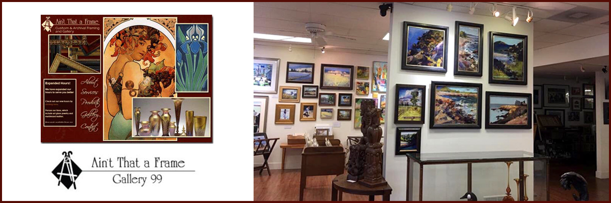 Gallery 99 Aint That A Frame Is A Custom Picture Framing Store And