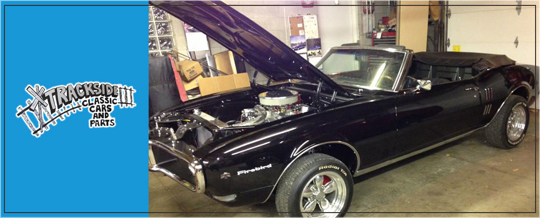 Trackside Classic Cars And Parts Is An Auto Parts Store In - Muscle car parts
