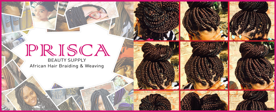 Priscas African Hair Braiding Weaving Accessories Is A African