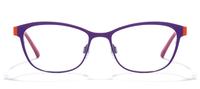 Purple Hue/Orange