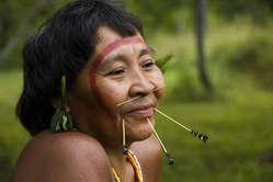 A Yanomami woman.