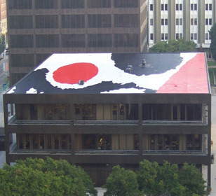 Rooftop painting