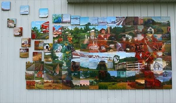 Bangor parade mural